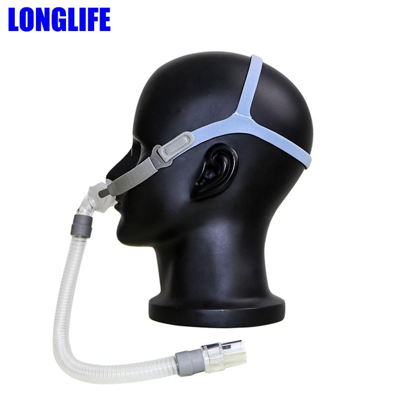 LONGLIFE P2 Nasal Pillows Interface CPAP Pillow Mask For CPAP Auto CPAP APAP BiPAP With S/M/L Three Sizes Sleep Apnea OSAHS OSAS