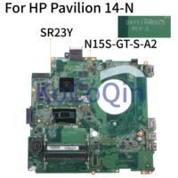 KoCoQin Laptop motherboard For HP Pavilion 14 P 14 Inch Core I5 5200U SR23Y N15S GT S A2 2G Mainboard DAY11AMB6E0