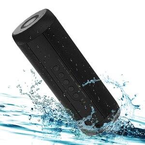 T2 Беспроводные Bluetooth колонки лучший водонепроницаемый портативный Открытый Громкоговоритель Мини Колонка коробка Динамик дизайн для iPhone ...