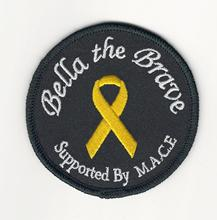 Woven label patch Embroidered patch patch Personalized customization service Products :brave