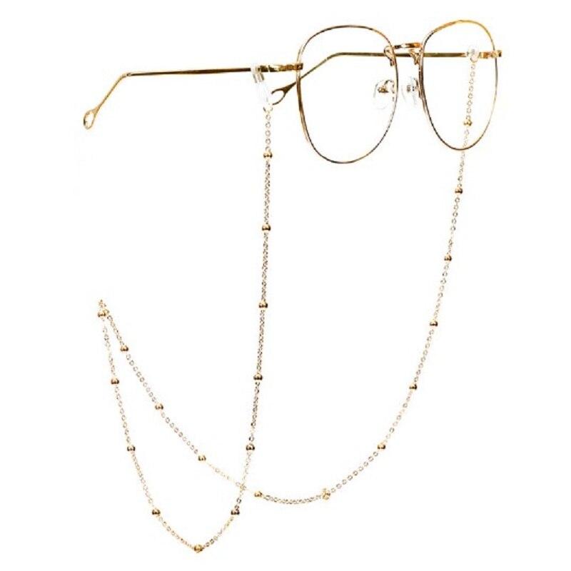 Glasses Chain Retro Eyeglasses Holder Strap Sunglasses Cord Holder Sunglasses Chain-A02