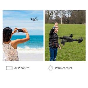 Image 2 - SG700 D profissional kamera drona 720p/1080p 4k HD WiFi FPV silnik szczotkowy śmigło długi na baterie powietrze RC dron Quadcopter