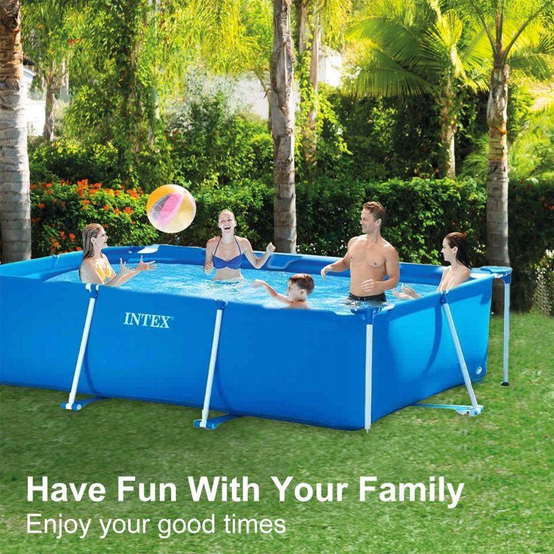 Pins y juntas de plástico para piscinas, 10 Uds., para Intex 13ft-24ft, armazón de Metal para piscinas B85C