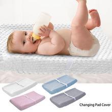 Детский пеленальный коврик из полиэфирного волокна, экологический пеленальный столик для пеленания, водонепроницаемый матрас, простыня для пеленания младенцев