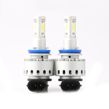 2Pcs Auto H4 LED H1 H3 H7 led H8 H9 H11 H13 9005 9006 9007 Car LED Headlight Bulbs 80W 12000LM Auto Headlamp COB Light Bulb(China)