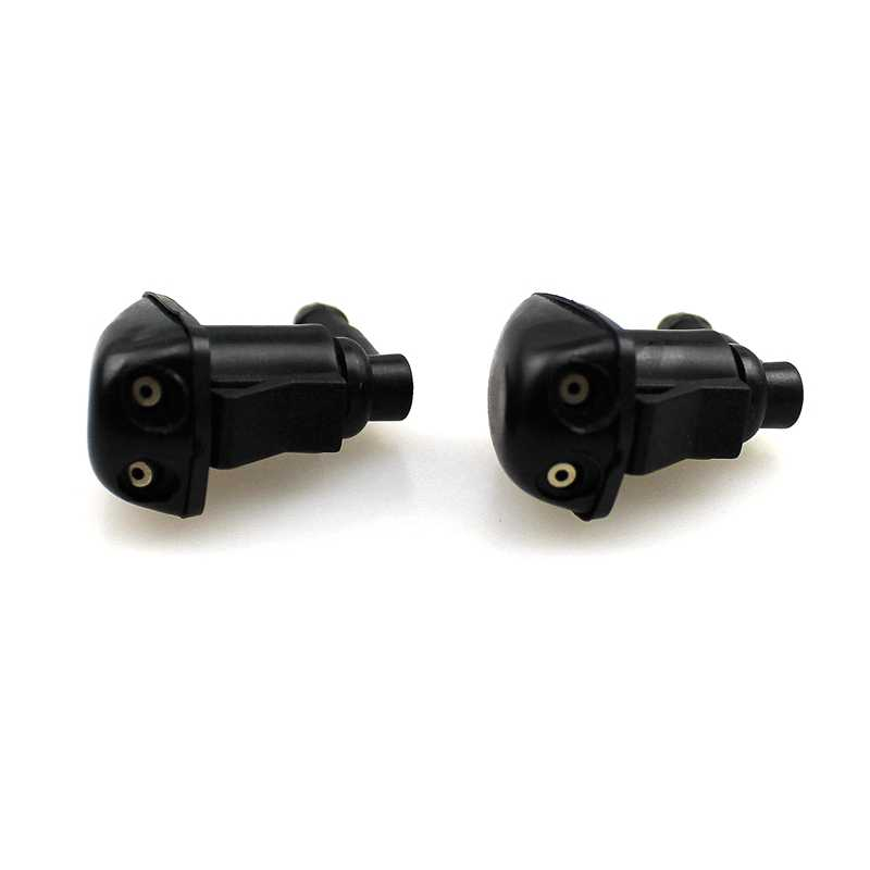 3 Sets of Front Windshield Washer Nozzle Spray Jet Fits Dodge Nitro 07-11 Jeep Liberty 05-10 Replace 55157-319AA
