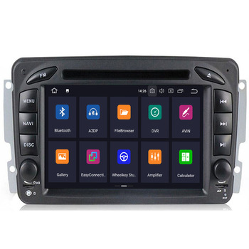 2020 Car Multimedia player Android 10 2 Din GPS Autoradio For Mercedes/Benz/CLK/W209/W203/W208/W463/Vaneo/Viano/Vito FM DSP DVR image