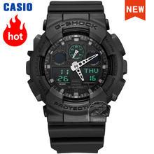 Мужские часы casio g shock топ роскошный комплект led военный