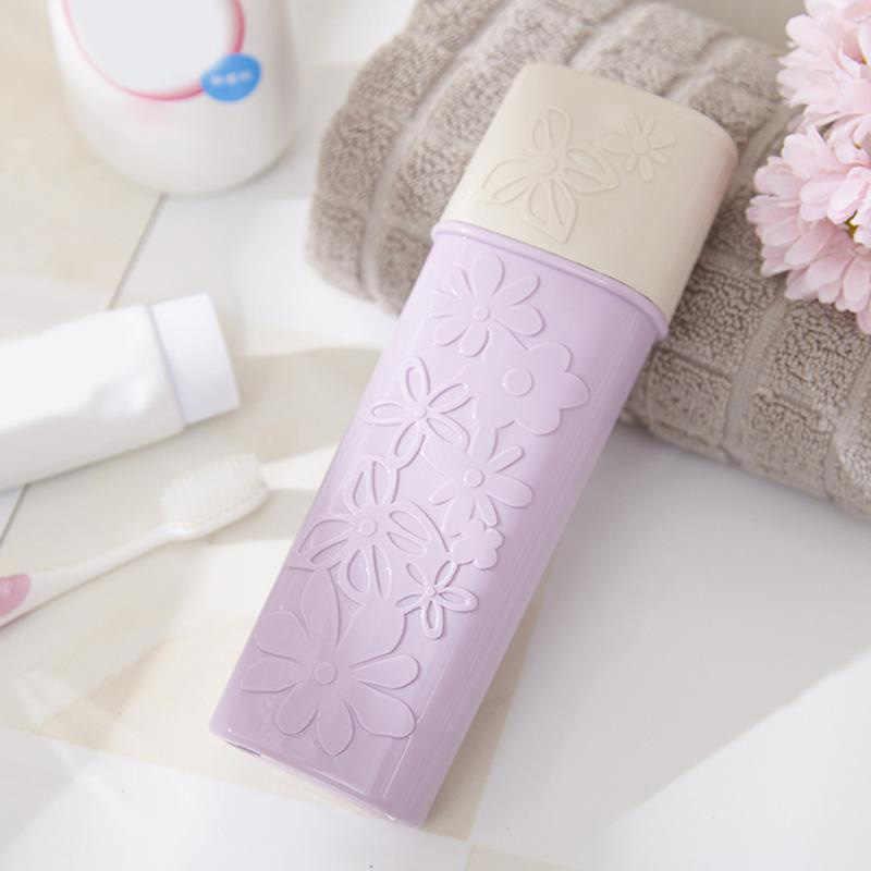 1 sztuk przydatne szczoteczka do zębów uchwyt do pasty do zębów kwiat rzeźbione kubek do mycia szczoteczki do zębów wkład rękaw ochronny Box łazienka narzędzia