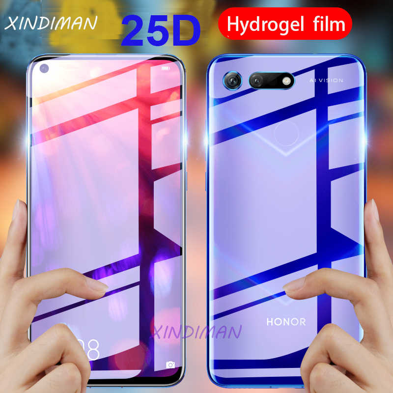 25D vorne + Zurück Hydrogel Film für huawei honor V10 V20 screen protector für huawei honor 10 10i 10lite honor 20pro honor 20lite Film