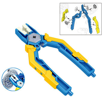 Demolition of Blocks Pin Pliers Tongs Tool Parts Panel Removal Building Bricks Sets DIY Assembling Educational Kids Toys