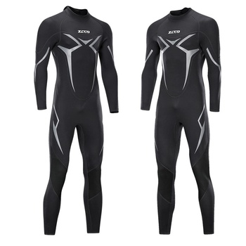 3mm Men Full Body Neoprene Triathlon Wetsuit Scuba Diving Wet Suit for Surfing Snorkeling Spearfishing