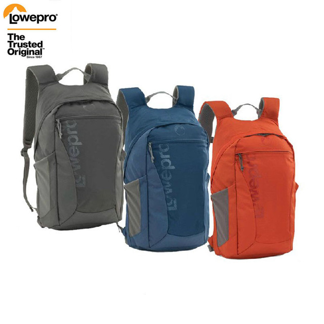 FREE SHIPPING Genuine Lowepro Photo Hatchback 22L AW  16L AW Shoulders Camera Bag Anti theft Package Knapsack Weather Cover