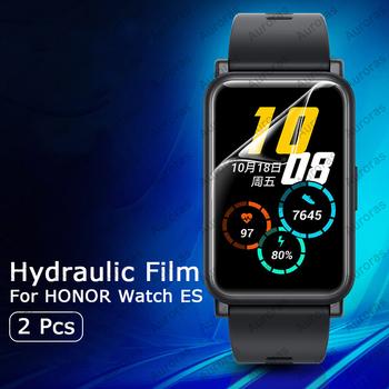 2 sztuk dla HONOR Watch ES inteligentny zegarek folia zabezpieczająca ekran hydrożel Film Protector pokrywy skrzynka dla Honor Watch ES Film tanie i dobre opinie Auroras Fashion CN (pochodzenie) Aparat Len Filmu Huawei