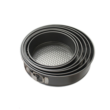 Mousse Ring Round Cake Mold With Buckle Stainless Steel Baking Mould Pastry Dessert Accessories Cake Decorating Kitchen Bakeware stainless steel 6 10cm adjustable cake mousse ring 3d round cake mold cake decorating baking accessories tools