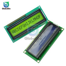 1601 LCD Screen Board 16X1 Character Digital LED LCD Display Module LCM STN SPLC780D KS0066 5V Single Row Interface Board pdp42u3 pdp4226 plasma digital board 40 dp4226 dib6x with 42v5 screen