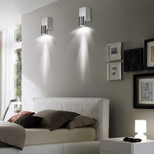 Indoor led wall light 3W Aluminum wall sconce Surface mounted Living room Bed room Bedside Modern