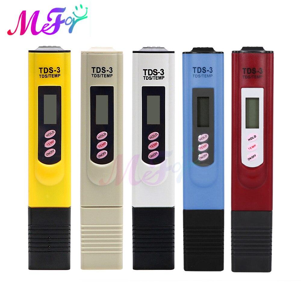 Ручной цифровой тестер воды TDS тестовая ручка анализатор качества воды измеритель чистоты воды 0-9999 PPM измерительный инструмент