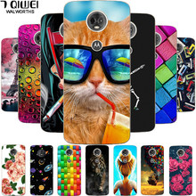 Cases For Motorola Moto G6 Play Silicone Case Soft TPU Back Cover Phone Case For Motorola Moto G6 Play Case G7 PLAY / G8 PLAY(China)