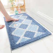 Soft household carpet household toilet antiskid mat water absorbent mat at the entrance easy to clean