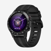 SENBONO GPS akıllı saat desteği Bluetooth çağrı IP67 erkekler kadınlar saat spor izci nabız monitörü Smartwatch akıllı telefon için