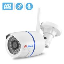 BESDER Audio 720P 1080P Wifi Ip CCTV Outdoor Camera Surveillance White Waterptoof Onvif Wireless Camera With SD Card Slot CamHi