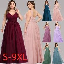 Rahat artı boyutu Maxi elbise ile kanat plaj 5xl 6xl 7xl zarif bir çizgi uzun kadın elbise 2020 bahar yaz femme Robe De Soiree