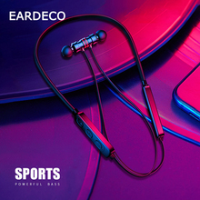 EARDECO Neckband Bluetooth Headphone 5.0 Stereo Earphone Earbuds Wireless Earphones Headphones Bass Headset with Mic Waterproof tronsmart encore s2 plus bluetooth earphones ipx45 headphones waterproof earphones wireless bluetooth headset with neckband