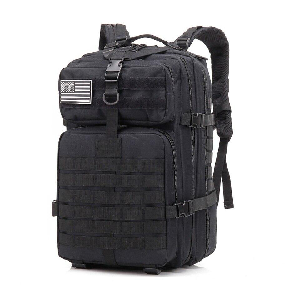 Sac de sport en plein air sac à dos tactique Molle militaire sacs à dos 900D Nylon imperméable Camping randonnée Trekking pêche sacs de chasse