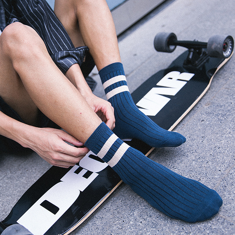 5 Pairs/set Men's Socks Cotton Comfortable Casual Men's Cotton Socks Wholesale Manufacturer Boy Sock Male Wholesale