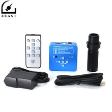 HD 34MP 2K 1080P 60FPS HDMI USB przemysłowe elektroniczne cyfrowe wideo lutowania mikroskopowa kamera lupa do naprawy telefonu