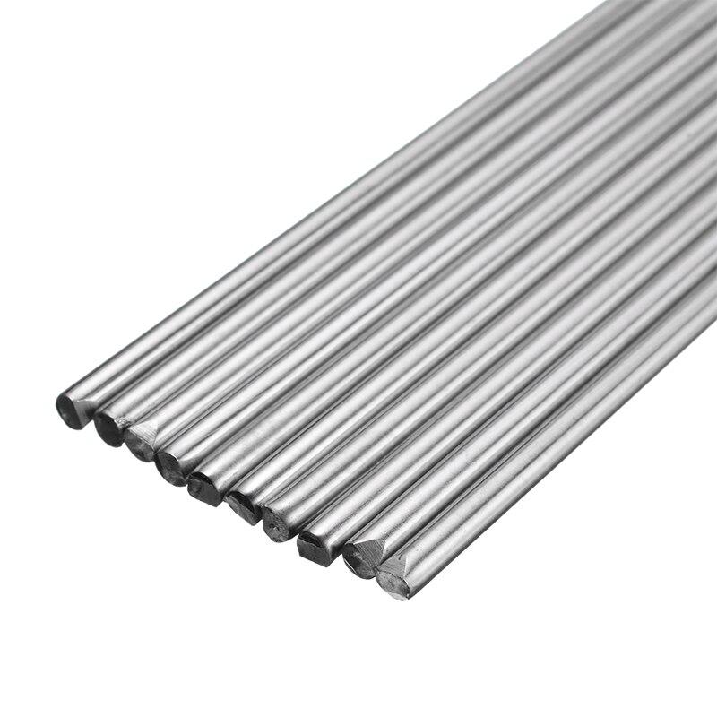 10 шт. 330 мм длинные 1,2/1,6/2,4 мм Нержавеющаясталь TIG сварочные электроды наполнитель для припоя аксессуары для сварки и резки