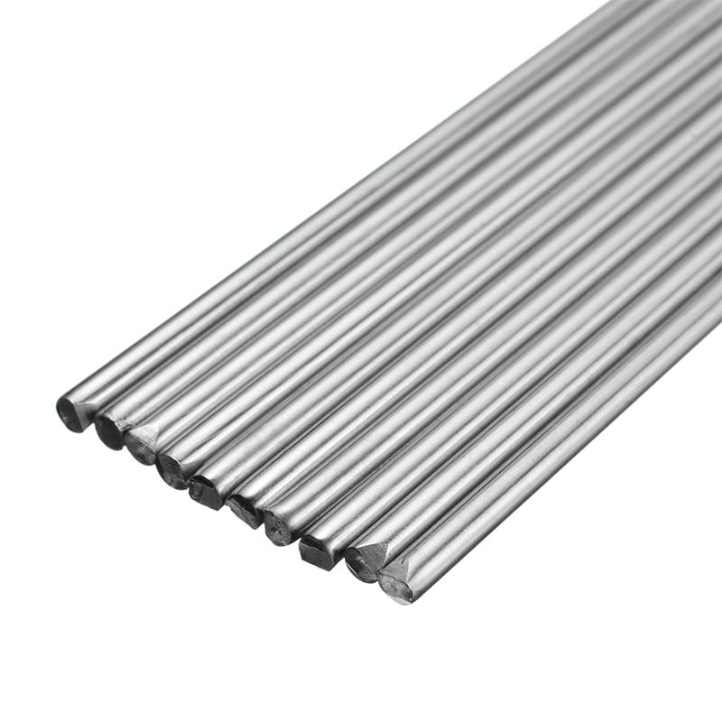 10Pcs 1.2/1.6mm 330mm Stainless Steel Welding Rod Electrodes High Quality TIG Welding Rods Filler Welding Soldering Supplies