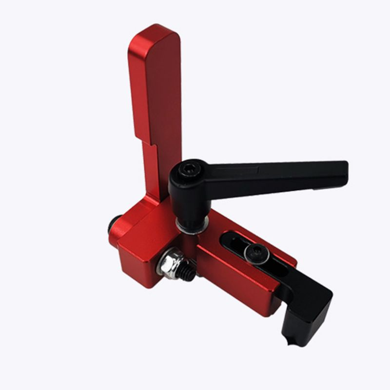 75mm Height T-tracks Stop Miter Gauge Table Saw T-Slot Stopper Woodworking Tool Y98E