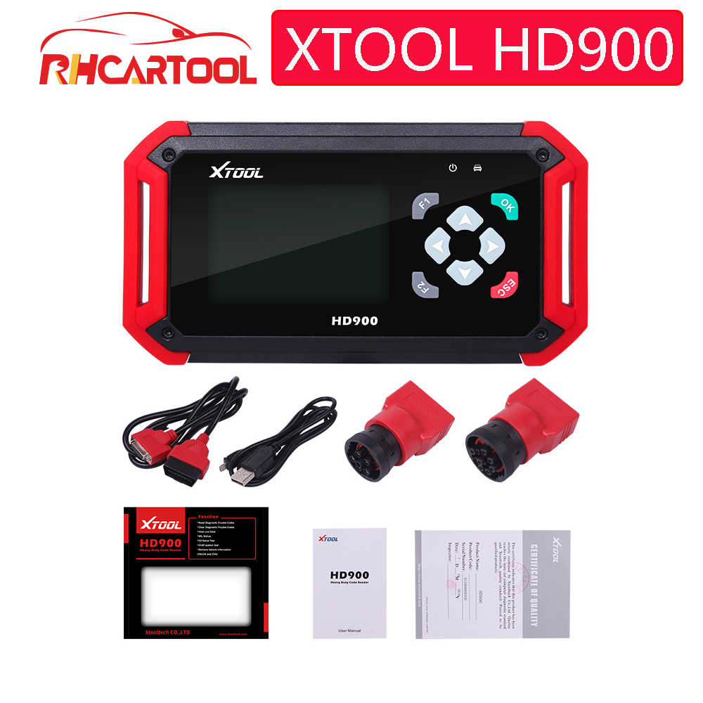Originale Xtool Originale di 100% HD900 Eobd2 OBD2 CAN BUS Auto di Codice Diagnostico Reader Scanner XTOOL HD900 Lettore di Codice