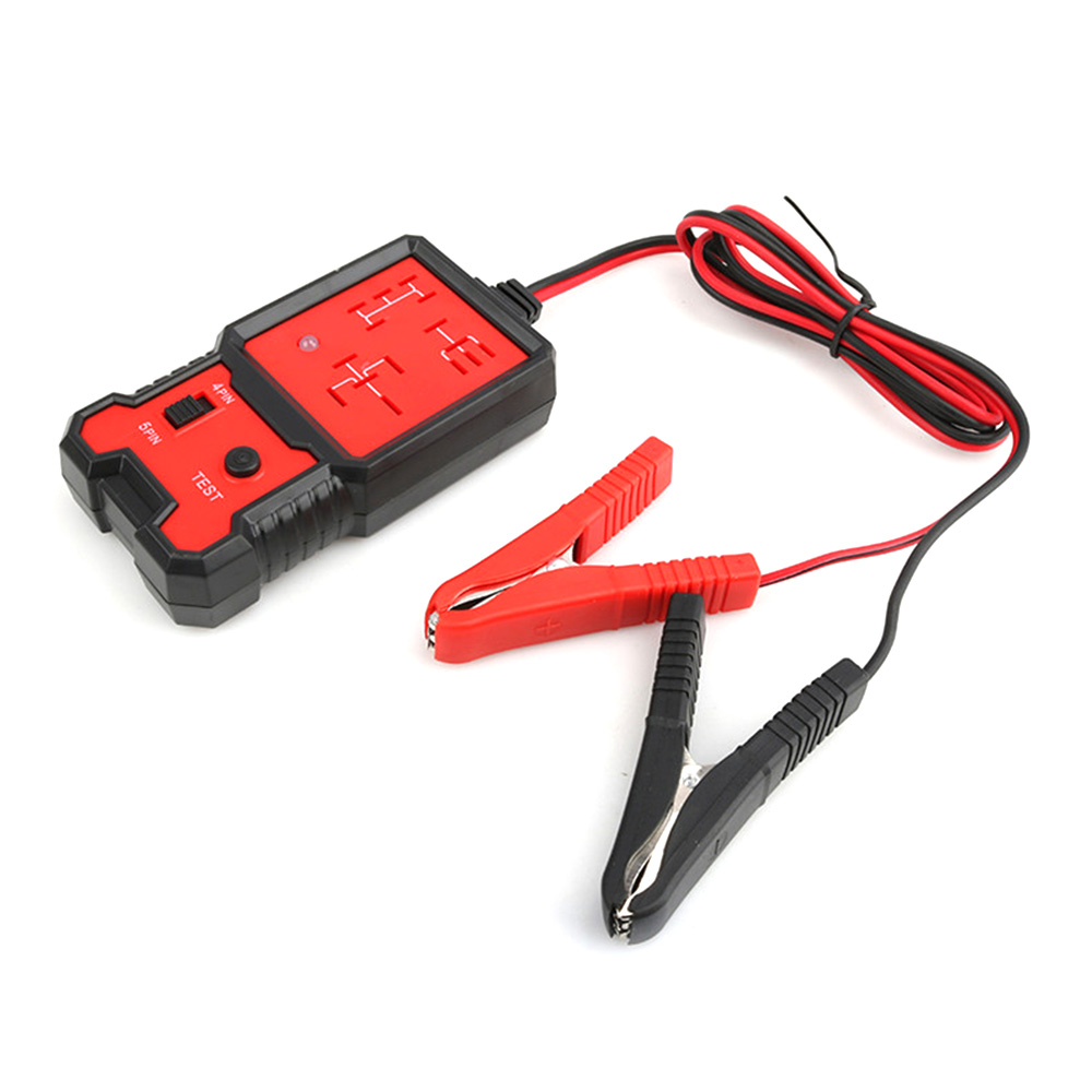 12V Car Relay Tester Relay Testing Tool Auto Battery Checker Accurate Diagnostic Tool Detection Portable Automotive Parts