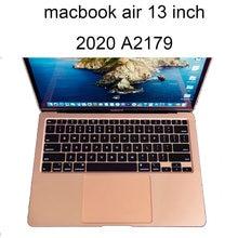 Чехлы для клавиатуры macbook air a2179 a 2179 13 дюймов 2020