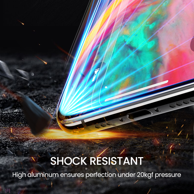 New Clear Screen Protector HD Full Coverage Glass Film For iPhone 11 Pro Max 2