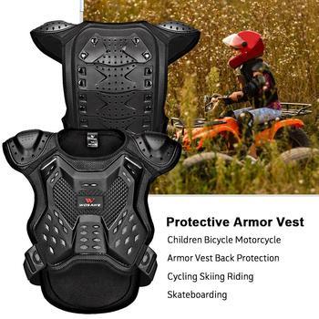 Dla WOSAWE dla dzieci garnitur zbroi dla dzieci motor terenowy ciała klatki piersiowej kręgosłupa kamizelka ochronna otwory wentylacyjne sportowa odzież ochronna tanie i dobre opinie Mikrofibra oddychająca Skompresowany Bike Body Chest Spine Protective Vest Ventilation Holes Sport Ware Pasuje dla większych rozmiarów niż zwykle Proszę zapoznać się z następującą informacją o rozmiarach ze sklepu