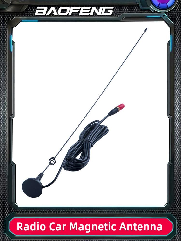 Baofeng Car-Antenna VHF Magnetic-Stand Walkie-Talkie UV-5R UT-108UV BF-888S UV-82 UHF