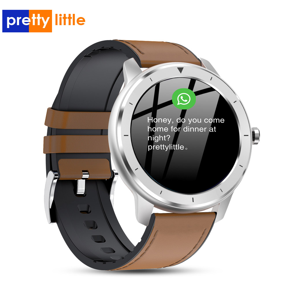 2020 Pre06 Smart Watch Men Custom Dial IP68 Waterproof Full Touch Screen SmartWatch for Android IOS Phone Sports Fitness Tracker
