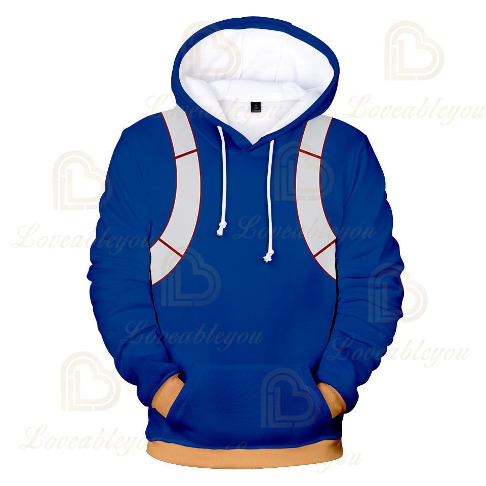 Anime Hoodies Sweatshirts Boku No My Hero Academia Cosplay Costumes Bakugou Todoroki Shoto Spring/Autumn Coat 23