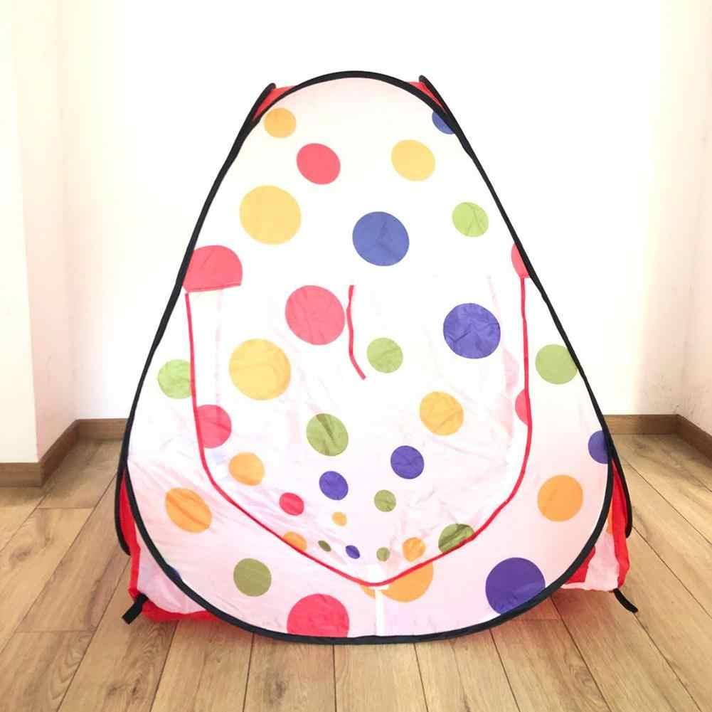 Portable Foldable Cute Hewan Peliharaan Anjing Tenda Hewan Peliharaan Kucing Anjing Nest Game Mainan Outdoor Indoor Tersedia Tipe Segitiga Hewan Peliharaan Boks Hewan Peliharaan tenda