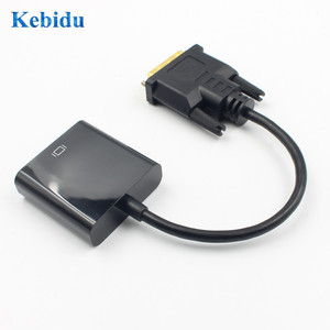 Image 4 - KEBIDU 1080P DVI D to VGA Active Adapter Converter Cable 24+1 Pin Male to 15Pin Female Monitor Cable for PC Display Card Full HD