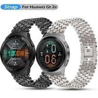 22Mm Horlogeband Strap Voor Huawei Horloge Gt 2e/Gt Gt2 46Mm Band Voor Honor Magic 2 46mm Polsband Lichtmetalen Armband Vervanging Correa