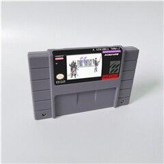 Image 4 - Juego Final Fantasy Mystic Quest or II III IV V VI 1 2 3 4 5 6 tarjeta de juego RPG versión de EE. UU. Ahorro de batería en idioma inglés