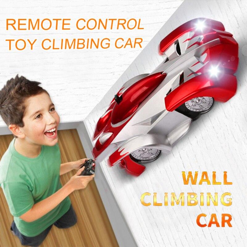 Новинка, гоночный автомобиль на дистанционном управлении, игрушечный автомобиль с дистанционным управлением, подъем по потолку, переход по...