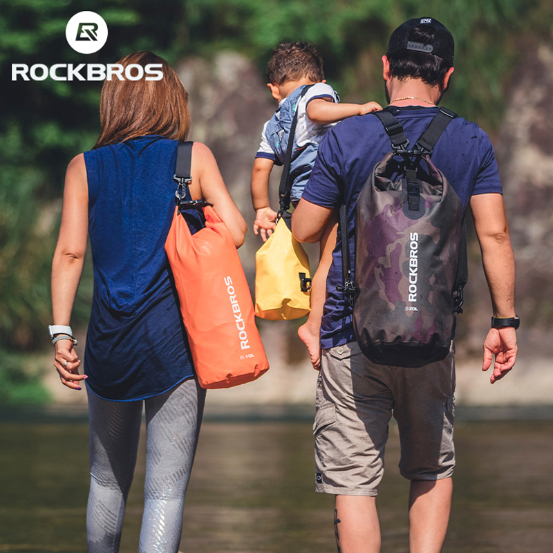 ROCKBROS 2L 5L Sport Swimming Bag Waterproof  Backpack Ultralight Folding Fishing Running Outdoor Gym Sport Mini Shoulder Bgas