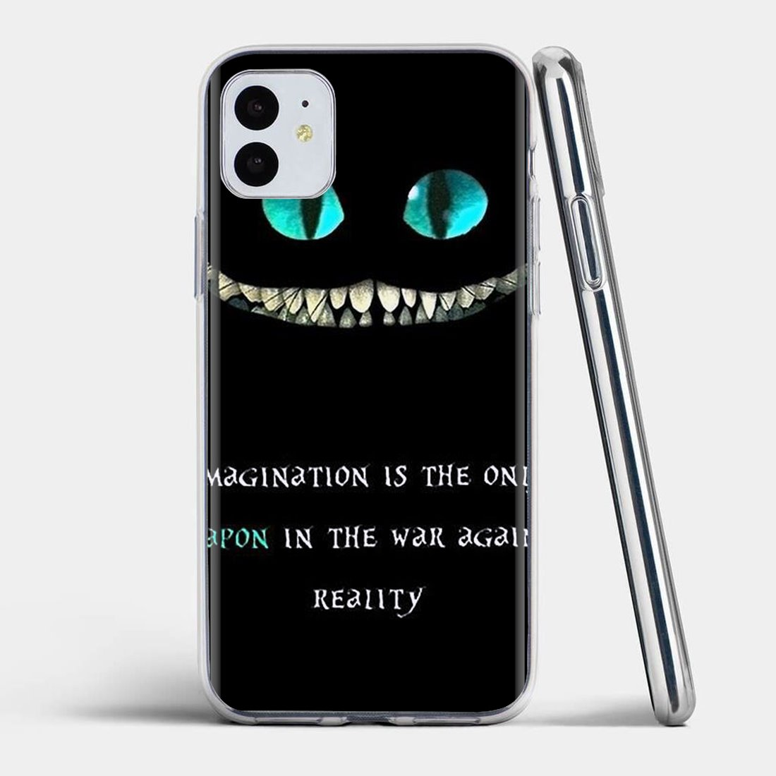 Silicone Cover We Are All Mad Here Wallpaper For Huawei Mate Honor
