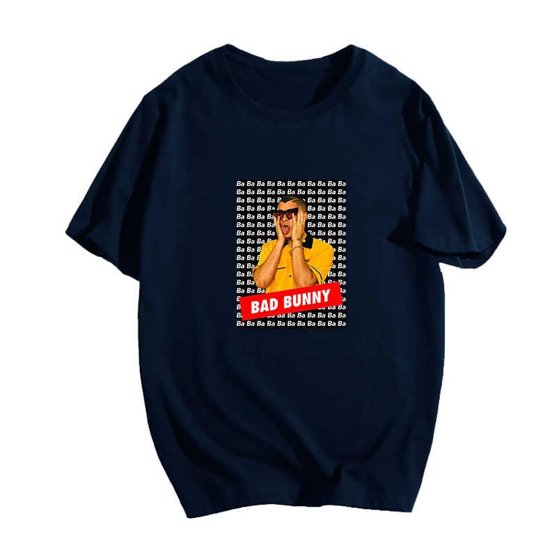 Women Hip Hop Tshirts Bad Bunny Boys/Girls Cotton T Shirt Men's Short Sleeve Tees Female Harajuku T-shirt Summer Fashion Tshirt